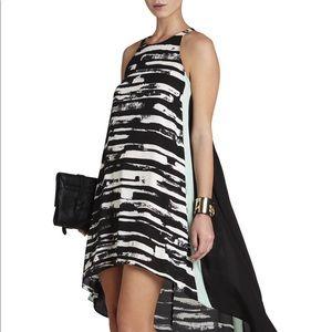 BCBGMAXAZRIA Marisa Color Block Dress Sz M NWOT